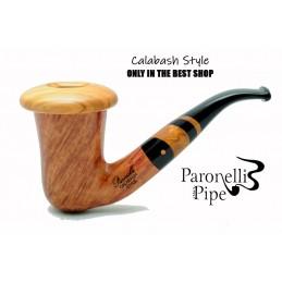 Briar pipe Paronelli CALABASH STYLE handmade