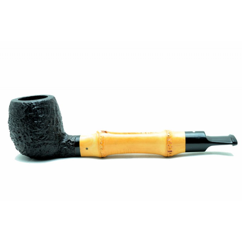 Dunhill pipe Shell with bambù 41011 year 1983 by Paronelli Pipe