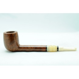 Briar and ivory pipe lumberman year 1930 by Paronelli Pipe