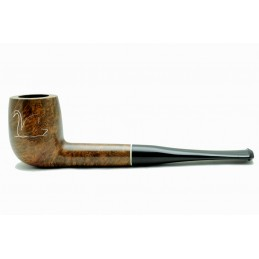 Briar pipe billiard chiselled swan year 1950 by Paronelli Pipe