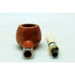 Briar and ivory pipe prince year 1960 by Paronelli Pipe