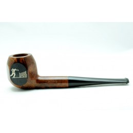 Briar pipe billiard chiselled tennis year 1950 by Paronelli Pipe