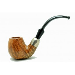 Briar pipe bent oom paul year 1970 by Paronelli Pipe