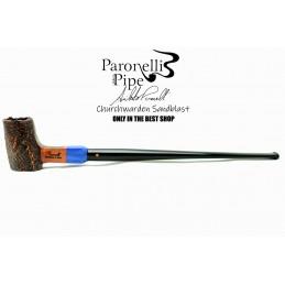 Briar pipe Paronelli CHURCHWARDEN SANDBLAST handmade