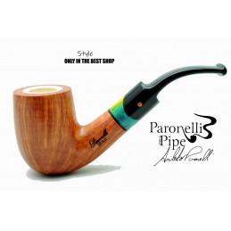 Pipa Paronelli radica STYLE 9mm fatta a mano