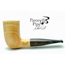 Olive wood pipe Paronelli billiard chimney handmade