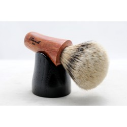 Briar shaving brush Paronelli + base