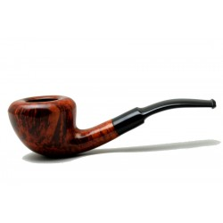 Briar pipe half bent Danske Club year 1990 by Paronelli