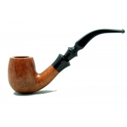 Briar pipe bent year 1970 by Paronelli Pipe