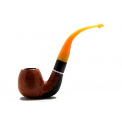 Briar pipe bent year 1960 by Paronelli Pipe