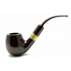 Dunhill pipe Chestnut 5213 gold ring year 1991 by Paronelli Pipe
