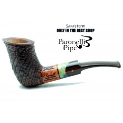 Briar pipe Paronelli SANDSTORM handmade