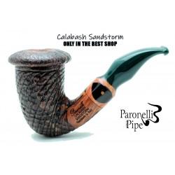 Briar pipe Paronelli CALABASH SANDSTORM handmade