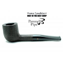 Briar pipe Paronelli PIUMA SANDBLAST handmade