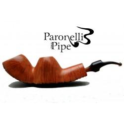 Briar pipe Paronelli double bowl handmade