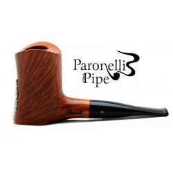 Briar and silver 925 pipe Paronelli freehand handmade