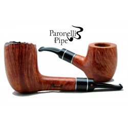 Collection box Paronelli briar pipes CARBON handmade