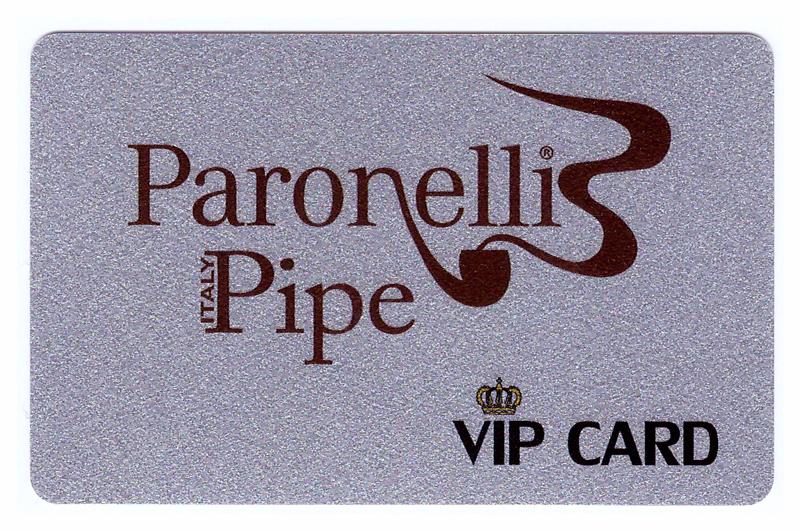 Paronelli Pipe Vip Card